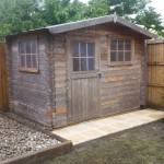 Re build of clients broken shed