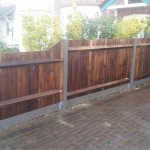 Front Garden Fence (Close Board Fencing)